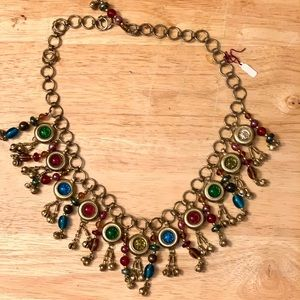 Bohemian Glass Beaded Necklace